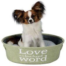 *NEW* TRIXIE PLUSH LANDO PET CAT DOG BED WITH SOFT CUSHION & HANDLES 38402