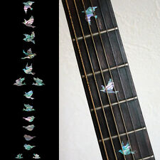 Fret Markers Inlay Sticker Decal For Guitar & Bass - Dove Birds Abalone Mix