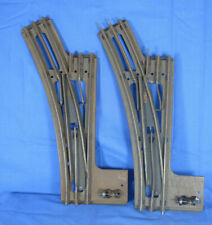 HORNBY SERIES O GAUGE 3 RAIL PAIR OF ELECTRIC PONTS LEFT HAND EPL2. No box