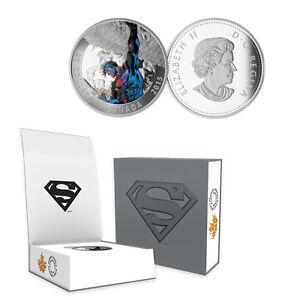 2015 Canada  $20 Superman Action Comics #2, 1 oz. Silver Proof Coin w/OGP + COA