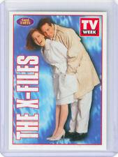 X-FILES AUSTRALIA TV WEEK PROMO CARD No. 3 MULDER & SCULLY Fox 1995 RARE