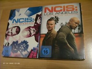 2 x DVD-Box: NCIS-Los Angeles / siebte + achte Staffel/Season (7+8) / unbenutzt