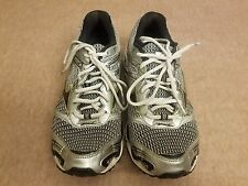 Mizuno Wave Nirvana 7 Women's Gray Active Sport Running Athletic Shoes Size 8.5