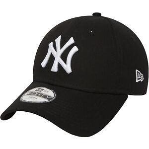 New Era Youths New York Yankees Essentials 9Forty Cap - Black - 6-12 Yrs