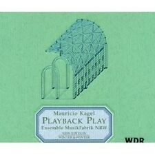 "MAURICIO KAGEL ""PLAYBACK PLAY""  CD NEU"