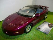 PONTIAC FIREBIRD COUPE de 1996 violette au 1/18 ERTL voiture miniature
