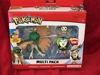NEW Pokemon Series 1 Battle Figure Multi Pack Rowlet, Dartrix & Decidueye Figure