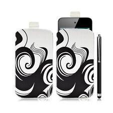 Housse coque étui pochette pour Apple Ipod Touch 4G avec motif HF04 + Stylet lux