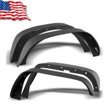 YITA For Jeep Wrangler 07-18 JK Full Set Flat Style Iron Fender Flares
