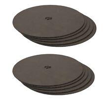 """9"""" (230 mm) in acciaio inox sottile taglio disco smerigliatrice angolare Lama in metallo cutterx 10"""