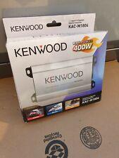 Kenwood KAC-M1804 Marine Class D 400W Compact 4-Channel Digital Amp