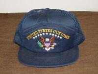 POLICE BASEBALL CAP HAT UNITED STATES CUSTOMS NEW UNUSED