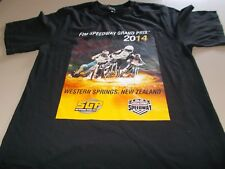 SPEEDWAY - FIM GRAND PRIX 2014 NEW ZEALAND T-SHIRT -SMALL - SEE DESC FOR SIZING