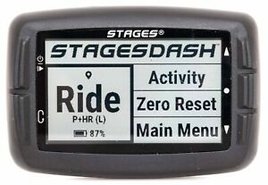 Stages Dash L10 Bike Computer Head Unit GPS ANT+ Bluetooth Cycling Road Gravel