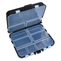 Black Organizer Fishing Accessories Box Storage Tackle Bag Convenient Durable