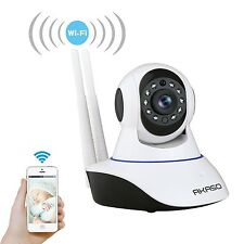 Dual Antenna Wireless WIFI HD CCTV IP indoor Security camera SD Card slot Mic
