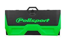 Polisport motopad Plástico Pit Mat Soporte De Bicicleta Mx Motox Cubresuelos-Verde Kxf