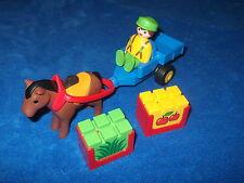 Playmobil 123 1 2 3 First Smile Tier Tiere 1 X Pferd Pony Bauernhof Zoo Kutsche