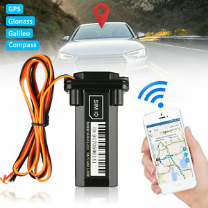 GPS Tracker Locator Global Real Time Tracking Device Car Vehicle Motorcycle GSM