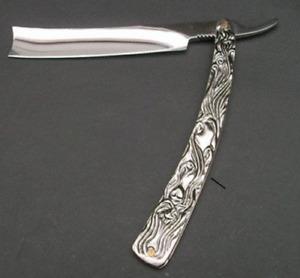 "Straight Razor SWEENEY TODD HUGE 11.5"" Blade Barber Pocket Knife Shaving Demon"