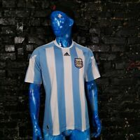 Argentina Team Jersey Home football shirt 2010 - 2011 Adidas P47066 Mens Size L