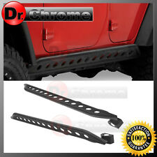 07-16 Jeep JK Wrangler 4 Door Rock Crawler Side Slider Armor Rocker Guards 1Pair