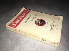 J'ACCUSE par un Allemand (Richard Grelling) 1915 Libraire Payot - DC35A