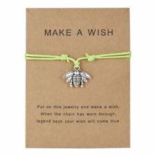 Mum Sister Girlfriend Birthday New Fashion Bee Wish Bracelet Friendship Daughter