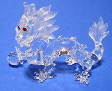 Swarovski Crystal SCSM 1997 The Dragon Fabulous Creatures Figurine Mint COA NIB