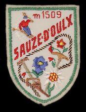 Ecusson brodé (patch/crest embroidered) ♦ Ski - Montagne - Sauze-d'Oulx