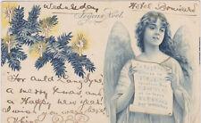 Christmas Angel singing , PU-1904