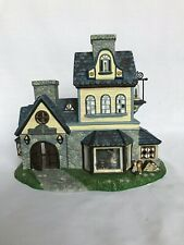 PartyLite Olde World Village Candle Shoppe Tealight House Christmas Building