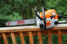 PILTZ Stihl MS180 HOT SAW 16 inch bar and Chain Perfect CHAINSAW