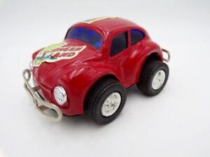 Vintage Japan Tin Friction Volkwagen Bug Tonka Buddy L Ichiko