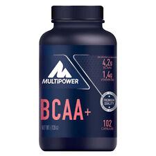 (14,08€/100g) Multipower BCAA+ Aminosäuren 102 Kapseln/ Dose