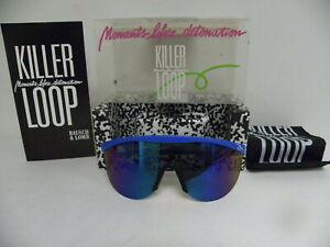 New Vintage B&L Killer Loop Countdown EOS W0915 E Blue Mirror Sunglasses