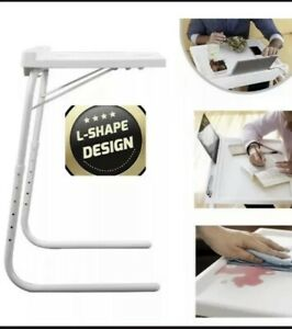 Table  Express Adjustable and Folding Table  Spill Proof iPad Bed