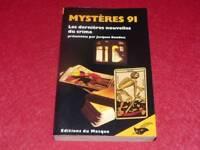 [BIBL.H.& P-J.OSWALD] J.BAUDOU / MYSTERES 91 Dernières Nouvelles du Crime Masque