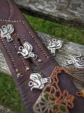 10 Tibetan Silver Cowboy Western Sella/Cavallo/equini Charms