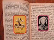 1974 TV Guide(PAT  CRANSHAW/WAYNE  ROGERS/MASH/DIANA MULDAUR/BORN FREE/BEN SLACK