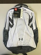 UNDER ARMOUR STORM TEAM HUSTLE WHITE BACKPACK (1306060)