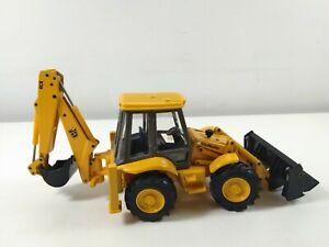 1:35 Scale SiteMaster JCB Yellow Backhoe Loader Model