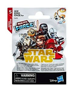 3 PACKETS OF STAR WARS MICRO FORCE FIGURES - SERIES 5