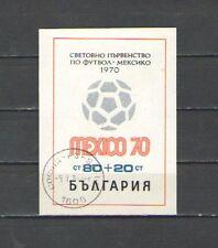 Q4011 - BULGARIA - 1970 - BLOCCO FOGLIETTO USATO - VEDI FOTO