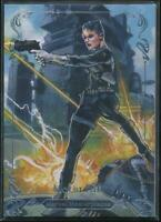 2018 Marvel Masterpieces Trading Card #36 Maria Hill /1999