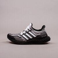 Adidas Running Ultra 4D 5.0 Black White Oero New Men Shoes Limited Rare G58158