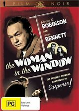 The Woman in the Window (DVD), Film Noir, Like new (Disc: NEW), Free shipping