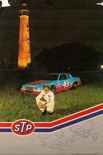 RARE! Richard Petty autographed 1984 STP PONTIAC NC LIGHTHOUSE #43 NASCAR photo
