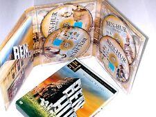 DVD: BOX - BEN HUR - 4 Disc Collector´s Edition - Deutsch/