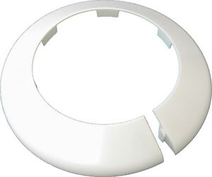 """Toilet Waste Pipe Cover / WC Soil Pipe Collar 110mm (4"""") White Talon PC110WH"""